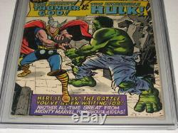 12 cents 1965 JOURNEY INTO MYSTERY #112 Signed Stan Lee CGC 5.0 THOR VS HULK