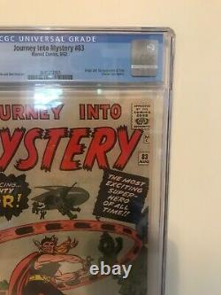 (1962) Journey Into Mystery #83 (CGC 2.5) Best 2.5 JIM #83 Available (Original)