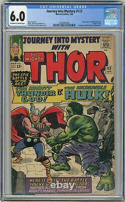 1965 Journey Into Mystery 112 CGC 6.0 Origin of Loki