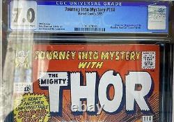 1965 Journey Into Mystery #114 CGC 7.0 Origin / 1st app Absorbing Man STAN LEE