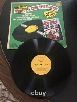 1966 Marvel -Journey into Mystery Golden Record Record Only Slp 188 NICE