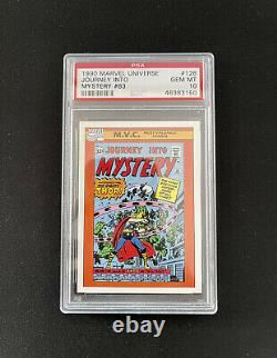 1990 Impel Marvel Universe #128, Journey Into Mystery 83, Thor PSA 10, Low Pop