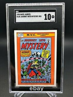 1990 Marvel Universe #128 JOURNEY INTO MYSTERY #83 SGC 10! Comp to PSA 10