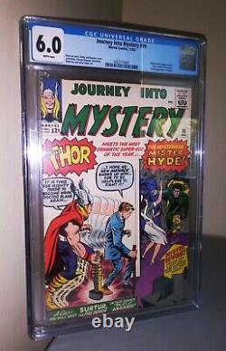 CGC Journey Into Mystery # 99 6.0 1st Mister Hyde Surtur Silver Age Comic Book