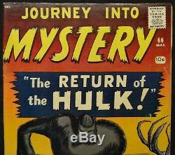 Dragonmiser Marvel Journey into Mystery #66 2nd Xemnu the Titan Mar 1961 Beauty