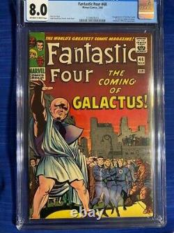 FANTASTIC FOUR #48 CGC 8.0 VF Very Fine 1st Appearance Silver Surfer & Galactus