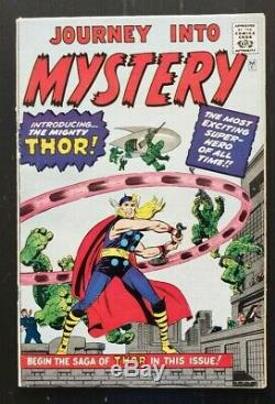 Golden Records Reprint Journey Into Mystery 83 Silver Age Marvel Comic 1st Thor