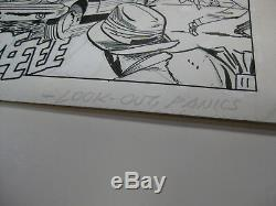 JACK KIRBY Original Comic Art Journey into Mystery Thor #125 pg 11 1966 Hercules