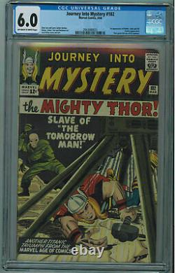 JOURNEY INTO MYSTERY #102 CGC 6.0 1ST HELA, SIF, & BALDER OWithW PGS 1964
