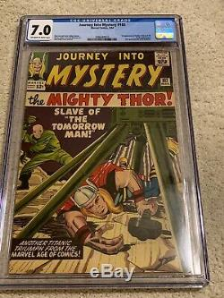 JOURNEY INTO MYSTERY #102 CGC 7.0 1ST HELA & SIF OWithW PGS 1964