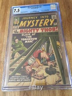 JOURNEY INTO MYSTERY 102 CGC 7.5 1st FIRST HELA SIF BALDER THOR