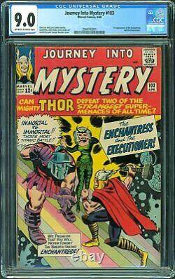 JOURNEY INTO MYSTERY #103 1ST APP ENCHANTRESS CGC 9.0 Insured Shipping Incld