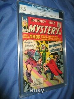 JOURNEY INTO MYSTERY #103 CGC 3.5 1st Enchantress (THOR) 1964