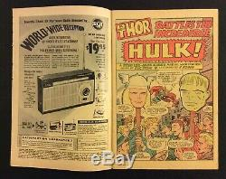 JOURNEY INTO MYSTERY #112 Comic THOR v HULK Superhero Battle 1965 Marvel 12 Cent
