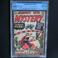 JOURNEY INTO MYSTERY #83 (1962) CBCS 4.0 Restored 1ST APP of THOR