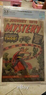 JOURNEY INTO MYSTERY 83 CBCS 3.5 OW-W 1ST Appearance Thor, Avengers(Not CGC)