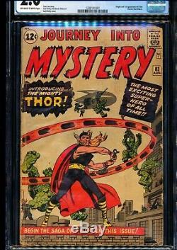 JOURNEY INTO MYSTERY #83 CGC 2.0 Origin & 1st Thor