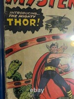 JOURNEY INTO MYSTERY #83 CGC 2.5 GD+ 1st Appearance Thor 1962 Silver Age Key