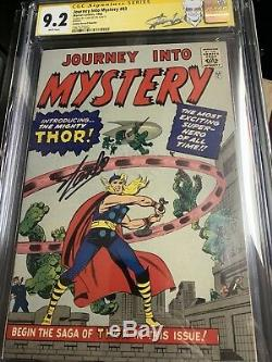 JOURNEY INTO MYSTERY #83 CGC 9.2 (Golden Record Reprint) THOR signed by Stan Lee