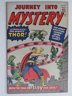 JOURNEY INTO MYSTERY # 83 US MARVEL 1966 1st THOR Golden record reprint VFNM