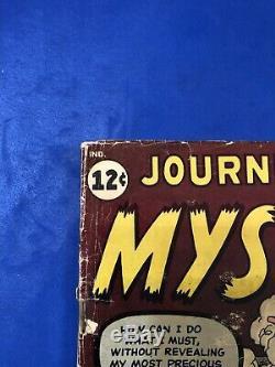 JOURNEY INTO MYSTERY #84 KEY 1st JANE FOSTER 2nd THOR-Jack Kirby Marvel 1962