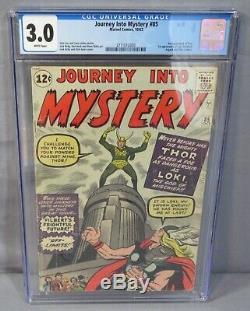 JOURNEY INTO MYSTERY #85 (1st Loki, Heimdall & Odin) CGC 3.0 Marvel Comics 1962