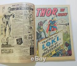 JOURNEY INTO MYSTERY #85 5.0 1ST LOKI White pages! MOVIE! KIRBY NOT CGC