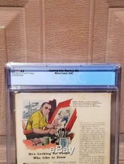 JOURNEY INTO MYSTERY #85 CGC 5.5 1st Appearance Loki OW-White Pages 1962 Thor 1