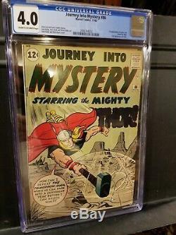 JOURNEY INTO MYSTERY #86 CBCS 4.0 VG 1962, 1st full Odin appearance (CGC)