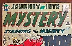 JOURNEY INTO MYSTERY #86 KEY ISSUE Kirby, Thor, 1st Full Odin, 1st Tomorrow Man