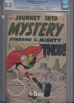 JOURNEY INTO MYSTERY # 86 (Nov 1962, Marvel) early THOR & 1st full ODIN KEY CGC