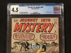 JOURNEY INTO MYSTERY 88 CGC 4.5 2nd Loki! (From THOR Lot 1 83 84 85 89)