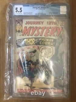 JOURNEY INTO MYSTERY #98 NOV 1963 CGC MIGHTY THOR 1st APPEARANCE THE COBRA