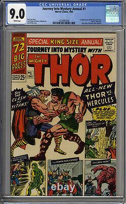 JOURNEY INTO MYSTERY ANNUAL #1 CGC 9.0 Marvel THOR first appearance Hercules