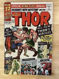 JOURNEY INTO MYSTERY ANNUAL #1 (Marvel, 1965) Thor 1st Hercules & Zeus