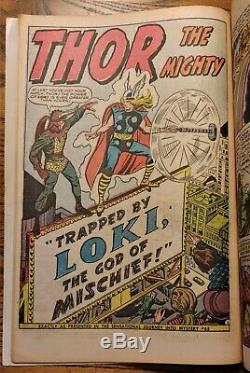 JOURNEY INTO MYSTERY ANNUAL #1 THOR 1st HERCULES LEE/KIRBY VG+ Marvel 1965