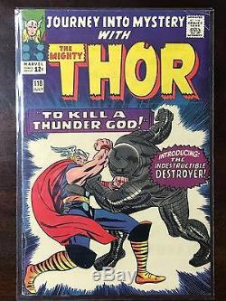JOURNEY INTO MYSTERY THOR #118 (1965) Marvel -The Mighty Thor vs. The Destroyer