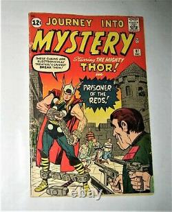 JOURNEY INTO MYSTERY THOR #87 MARVEL COMIC 5th Thor, Fights the Commies! 1963