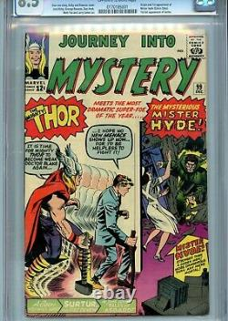 JOURNEY INTO MYSTERY (THOR) #99 CGC VF+ 8.5 (1st Mr Hyde)