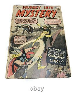 JOURNEY into MYSTERY #88 Lee/Kirby Silver Age 2nd LOKI MCU Disney+