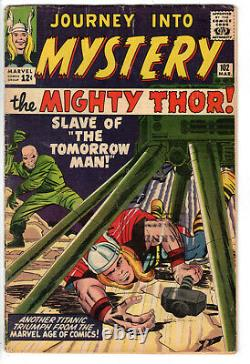Journey Into Mystery #102 (1964) Grade 3.5 1st Appearance Of Hela