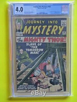 Journey Into Mystery #102 CGC 4.0 Huge Key 1st Balder, 1st Hela, 1st Sif