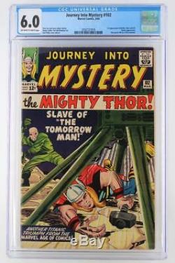 Journey Into Mystery #102 CGC 6.0 FN Marvel 1964 1st App Balder Hela Sif