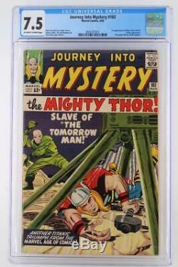 Journey Into Mystery #102 CGC 7.5 VF- Marvel 1964 1st App Balder Hela Sif
