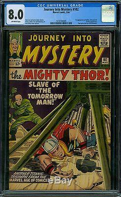 Journey Into Mystery 102 CGC 8.0 OW Pages