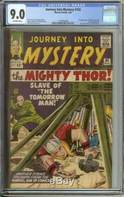 Journey Into Mystery #102 Cgc 9.0 Ow Pages