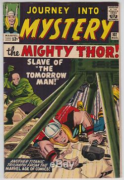 Journey Into Mystery #102 F 6.0 Mighty Thor First Appearance Of Sif