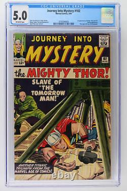 Journey Into Mystery #102 Marvel 1964 CGC 5.0 1st Appearance of Balder, Hela a