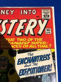 Journey Into Mystery 103 1st Appearance Of Enchantress Iconic Cover Nice Looking