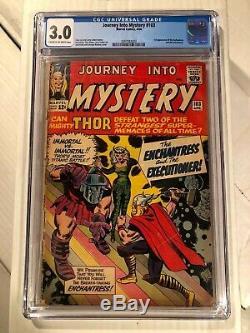 Journey Into Mystery #103 CGC 3.0 CR-OW 1st Enchantress 1964 Marvel Thor Kirby
